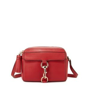 Rebecca Minkoff MAB red crossbody purse camera